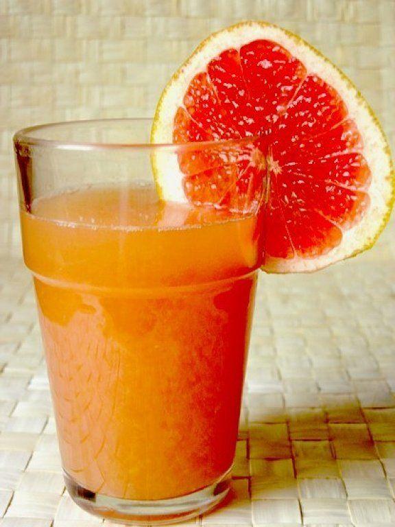 Batido depurativo de citricos