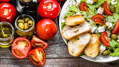 dieta mediterranea para el corazon